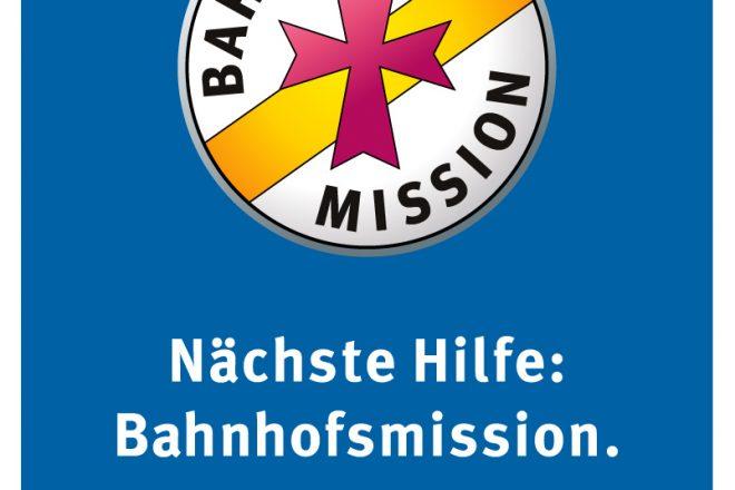 Logo der Bahnhofsmissionen in Deutschland